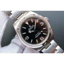 Best Rolex EXPLORER I 214270 39mm Black Dial Bracelet Rolex WJ00245