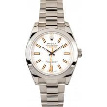 Best Rolex Milgauss 116400WSO White Dial JW2213