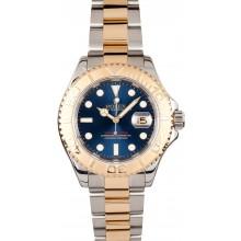 Best Rolex Yacht-Master 16623 Blue Dial JW2576