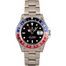 Certified Rolex GMT-Master 16700 'Pepsi' Bezel JW0168