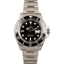 Certified Rolex Sea-Dweller 126600 Red Lettering Model JW0172