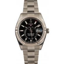 Certified Rolex Sky-Dweller 326934 Black Dial JW0176