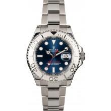 Certified Rolex Yacht-Master 116622 Blue Dial JW0181