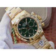 Cheap Rolex Rolex Daytona 116508 Plated 904L Case and Bracelet Green Dial WJ00834