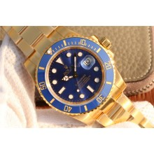Cheap Rolex Submariner 116613 Wrapped Blue Dial Wrapped Bracelet WJ00999
