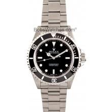 Cheap Rolex Submariner 14060 No Date Black JW2421
