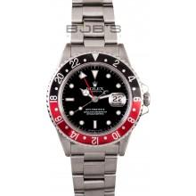Copy Best Rolex GMT Master II 16760 Coke Bezel JW2160