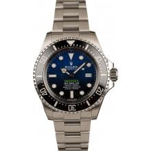 Fake Cheap Rolex DeepSea 126660 D-Blue Ceramic Bezel Model t JW2087