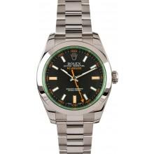 Fake Green Rolex Milgauss 116400V JW0237