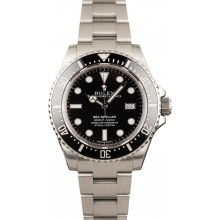 Fake Rolex 116600 Sea-Dweller Ceramic Black Bezel JW1602