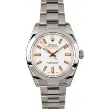 Fake Rolex Milgauss White 116400 JW2216