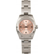 First-class Quality Ladies Rolex Oyster Perpetual 176234 Pink JW0336