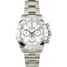 High Imitation Daytona Rolex White Dial 116520 JW0206