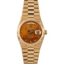 High Quality Replica Rolex OysterQuartz Day-Date 19018 Wood Dial JW2287