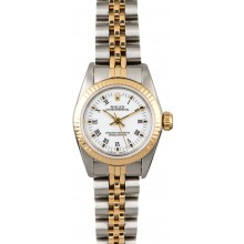 High Quality Rolex Oyster Perpetual 67193 Two Tone Ladies Watch JW0604