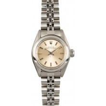 Hot Rolex Ladies Oyster Perpetual 6718 Stainless Steel JW0496