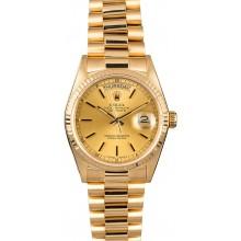 Imitation AAAAA Rolex President 18038 Yellow Gold Day-Date JW2309