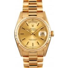 Imitation President Rolex Gold Day-Date 18238 JW1596
