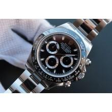 Imitation Rolex Daytona 116500 Black Dial Bracelet Rolex WJ00433