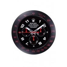 Imitation Rolex Daytona Cosmograph Wall Clock Black-Red 621908