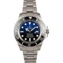 Imitation Rolex Deepsea Blue 116660B 100% Authentic JW2089