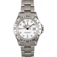 Imitation Rolex Explorer II Ref. 16570T White Polar Dial JW2123