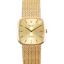 Imitation Rolex Vintage Gold Cellini JW2547