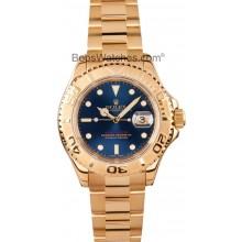Imitation Rolex Yachtmaster 18k Gold 16628 JW2590