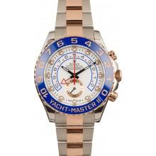Imitation Rolex Yachtmaster II Rose Gold 116681 JW2592