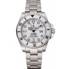 Imitation Swiss Rolex Submariner Bamford White Dial Stainless Steel Bracelet 1453978
