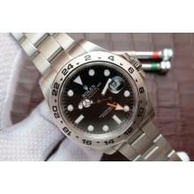 Luxury Rolex Explorer II 42mm 216570 Black Dial Bracelet WJ01084