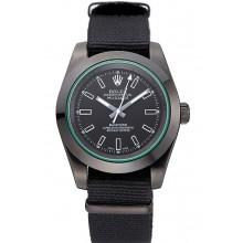 Replica AAA Rolex Milgauss Bamford Black Nylon Strap 622001