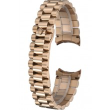 Replica AAA Rolex Polished and Brushed Gold Bracelet 622490