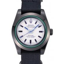 Replica Rolex Milgauss Bamford Black Nylon Strap 622000