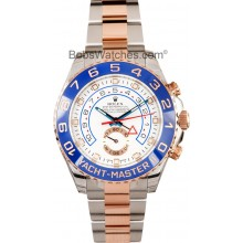 Replica Rolex Yachtmaster 2 Rose Gold w/ Stickers JW2591