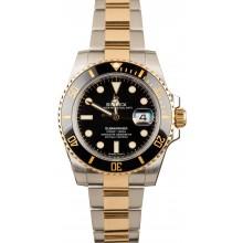 Rolex Black Dial Submariner 116613 JW1655