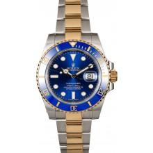 Rolex Ceramic Submariner 116613 Sunburst Blue Dial JW1674