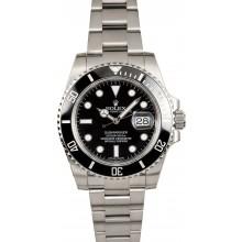 Rolex Ceramic Submariner Date 116610 JW1675