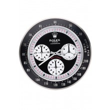 Rolex Daytona Cosmograph Wall Clock Black-Red 622480