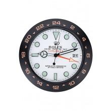 Rolex Explorer II Wall Clock Black-Orange 622479
