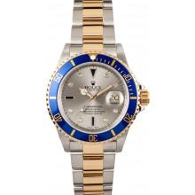 Rolex Men's Serti Dial Submariner 16613 JW2204