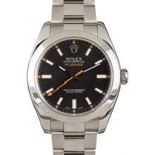 Rolex Milgauss 116400 Black 40MM JW2210