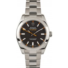 Rolex Milgauss 116400 Luminous Dial JW2211