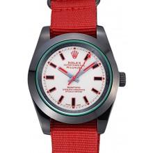 Rolex Milgauss Bamford Red Nylon Strap 622002