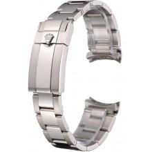 Rolex Polished and Brushed Stainless Steel Link Bracelet 622492