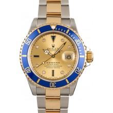 Rolex Serti Dial Submariner 16613 JW2379