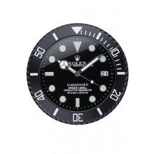 Rolex Submariner Wall Clock Black 622474