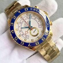 Rolex YachtMaster II 116688 Blue Ceramic Bracelet Rolex WJ00255