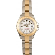 Rolex Yachtmaster Ladies 18k Gold & Steel 69623 JW0631