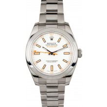 White Milgauss 116400 Rolex JW2958